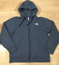 The North Face Full Zip Hoodie Mens Size XS Gray