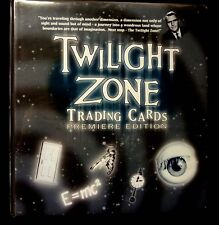 Twilight Zone Rittenhouse Premiere Series 1 Binder with Auto A19 and Promo Cards