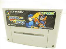 ROCKMAN & FORTE ref/090 Mega Man & Bass Super Famicom Cartridge Only sfc