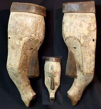 Art Africain grand masque ancien Fang Ngil Gabon 53cm spiritualité esthetique