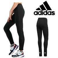 Adidas Trefoil Ladies Small Logo Legging Casual Wear Bottom Jogging Gym Yoga