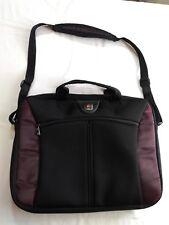 Wenger Soft Laptop Case Bag Tote Sleeve Black/Purple