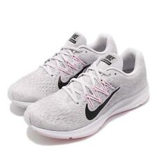 Nike Wmns Zoom Winflo 5 Grey Black Pink Womens Running Shoes AA7414-013
