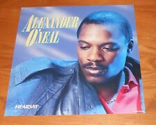 Alexander O'Neal Hearsay Poster 2-Sided Flat Square 1987 Promo 12x12