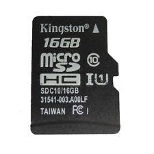 16GB Kingston MicroSD SDHC TF C10 Memory Card Memoria f Phone Tablet