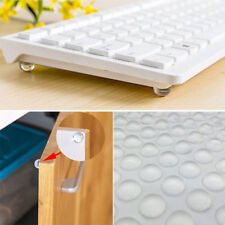 50pcs Self Adhesive Clear Bumpers Door Buffer Crash Pad for Cupboard Furniture