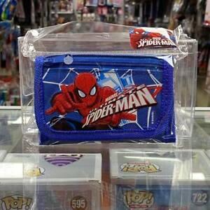 MARVEL Ultimate Spider-Man Children boy's Tri Fold Wallet - Blue