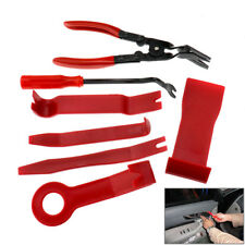 7pcs Plastic Car Auto Door Kits Upholstery Trim Clip Removal Pliers Useful Tools