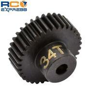 Hot Racing 34t 48p Hardened Steel Pinion Gear 1/8 Bore CSG1834