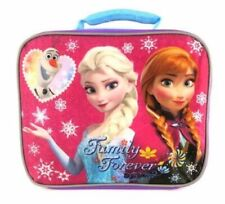 DISNEY FROZEN FAMILY FOREVER PVC & Lead-Safe Girls Insulated Lunch Tote Box