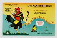 Postcard Chicken in the Rough West Grand Oklahoma City Golf