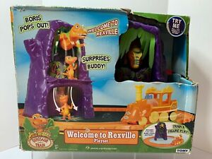 DINOSAUR TRAIN WELCOME TO REXVILLE PLAYSET TOMY Learning Curve 3+ NEW