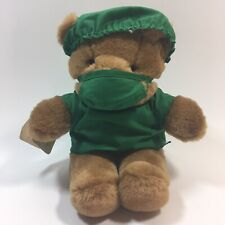 Frenz Cuddly and Loveable Doctor Bear Plush O.R. Scrubs