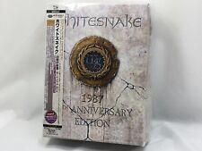 WHITESNAKE 1987 30th Anniversary Edition 4 CD / DVD ALBUM Tracking from Japan