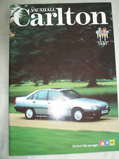 Vauxhall CARLTON FOLLETO Mar 1987