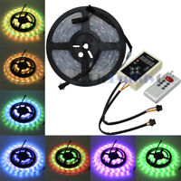 16ft RGB Dream Color 150LEDs Strip Light SMD5050 6803 IC Waterproof+2 way Remote