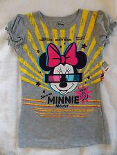 NWT Disney Minnie Mouse T-Shirt Ruffle Sleeve 6X