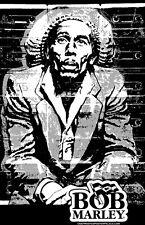 "Bob Marley ""Black Light"" Poster"