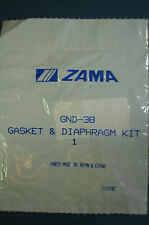 GENUINE ZAMA  CARBURETOR GASKET KIT  # GND-38 FOR C1U CARBS