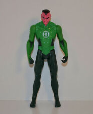 "2011 Green Sinestro 4"" Mattel Action Figure DC Comics Green Lantern"