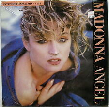 "MADONNA Angel 1985 Sire Records UK ORG 12"" Extended Dance Mix SEALED !!!"