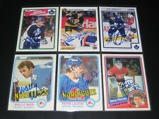 "TIM CONNOLLY autographed '12/13 TORONTO MAPLE LEAFS ""Score"" card"