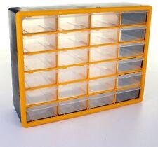 24-parti Cassetto Armadietto piccolo laboratorio Organizer Multi Tool Box Garage