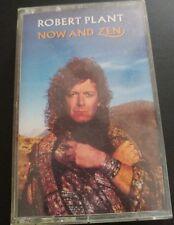 Robert Plant Now And Zen Cassette 1988 Led Zeppelin Solo Vocalist Singer Rock