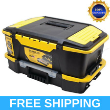 Stanley Tool Box Organizer Chest Portable Hand Power Tools Parts Hobby Storage