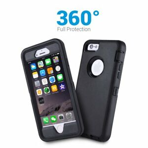 Heavy Duty Rugged Builder Shockproof Military Case Cover For Apple iPhone 6 / 6s