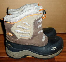 BOYS THE NORTH FACE H.O.T. 200 GRAM INSULATED PULL ON WINTER SNOW BOOTS SIZE 6