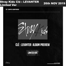 Stray Kids Clé : LEVANTER Limited Ver CD+Photobook+Photocard+Etc+Tracking Num