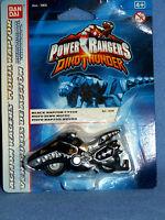 POWER RANGERS DINO THUNDER BLACK RAPTOR CYCLE NEW DIECAST