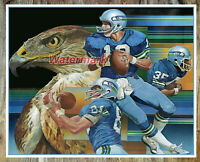 NFL Vintage Seattle Seahawks Reprint Color Picture 8 X 10 Photo