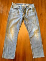 """Seven 7 for All Mankind Jeans Men's Size 33 x 29"""" Standard Fit Medium Wash"""