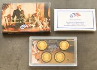 USA 2007 Presidential Dollar Proof Set S San Francisco PP polierte Platte 1$