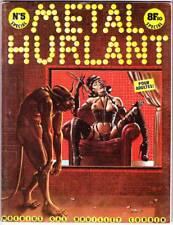 METAL HURLANT #5 - 1976 - Philippe Druillet, Moebius, Corben - French edition