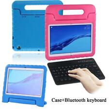 """For Huawei MediaPad T3 10 9.6""""/T5 10.1"""" EVA Stand Cover Case +Bluetooth Keyboard"""