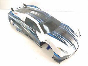 Traxxas XO-1 1/7 Scale 4wd RC Supercar Roller Slider GTR Shocks Complete w/ Body