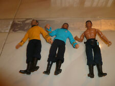 "Vintage 1974 MEGO Star Trek Lot (3) CAPTAIN KIRK & 2 SPOCK 8 "" Action Figure"
