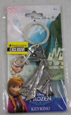 Disney Frozen Ice Queen ELSA Pewter Metal Keychain Key Ring Key Chain New