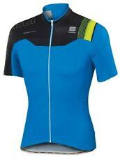 Sportful BodyFit Pro Team Full Zip Cycling Jersey Blue Size Large