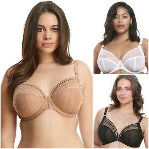 Elomi Matilda Bra 8900 Underwired Non-Padded Side Support Full Cup Womens Bras