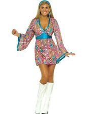 Forum Novelties Women's 60's Generation Mod Wild Swirl Costume Dress M/L 8/12