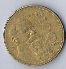 1988 MEXICO MEXICAN $100 PESO COIN EAGLE SNAKE