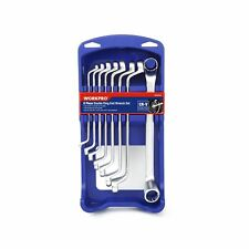 Workpro Offset Wrench Set Double Box End Metric Cr V Din 8 Piece With Abs Org