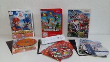 """Nintendo Wii Spiele Set """" Smash Brows Brawl, Mario & Sonic & Mario Bros """"+ Cont."""