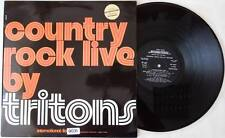 TRITONS Country Rock Live By Tritons LP Vinyl Italy Folk * RARE