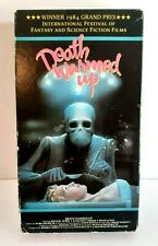 DEATH WARMED UP VHS VESTRON VIDEO 80'S HORROR GORE NUDITY BRAIN SURGERY RARE OOP