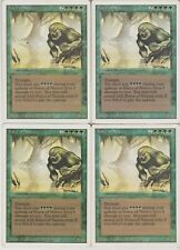 MTG 4X Force of Nature X4 Revised Edition Magic 3rd Ed - Played